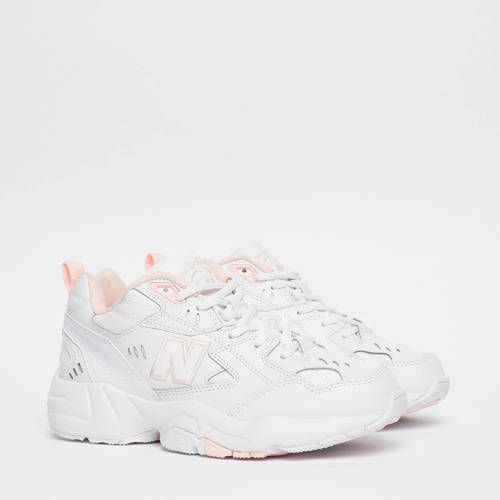 New Balance 608 sneakers wit/roze | Comfortabele schoenen ...