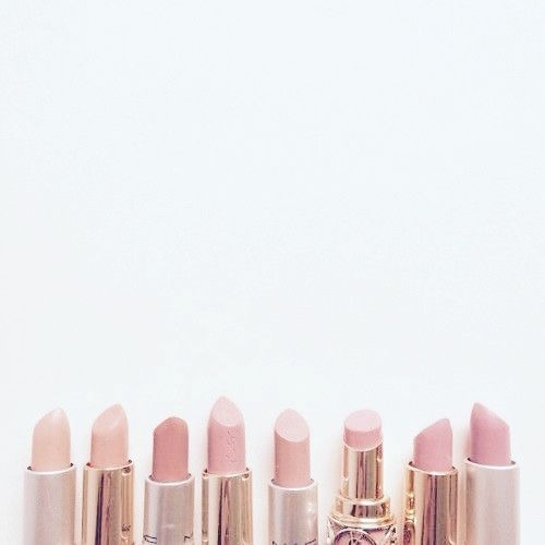 Pink lipsticks. @thecoveteur: