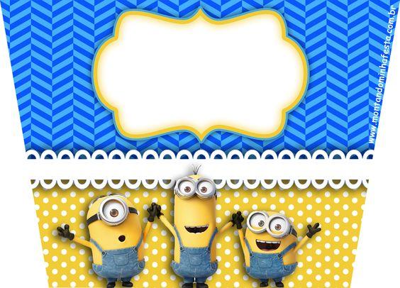 Montando minha festa: Kit digital gratuito para imprimir Minions!