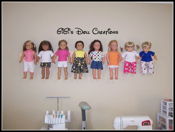 GiGi's Doll and Craft Creations: American Girl Doll Wall Hanger: