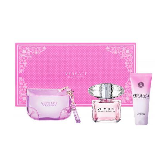 Versace Bright Crystal Eau De Toilette Vaporisateur 90ml Coffret 3 Produits Cosmetiques Online
