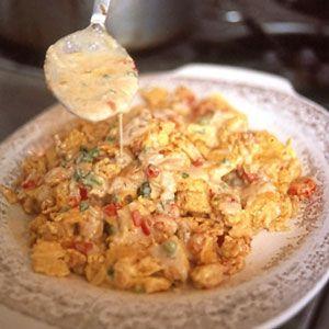 Cajun Crawfish Eggs  .... SOUNDS SO YUMMY!