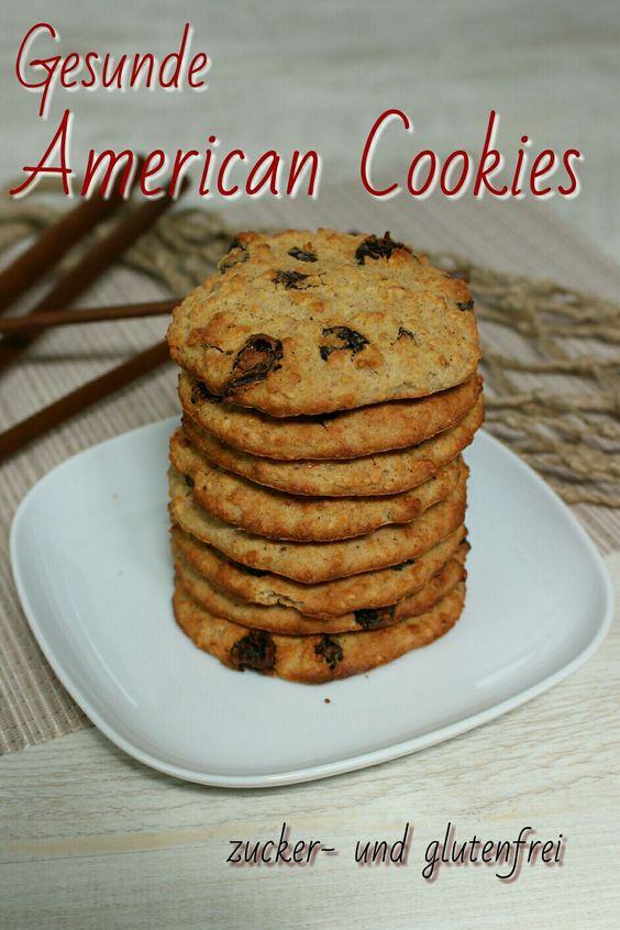 Auf meinem Blog findest Du ein einfaches Rezept für gesunde American Cookies. Es geht sehr schnell, ist zuckerfrei und lässt sich einfach zubereiten. // Lisawegmann.de regularsports Rezept Recipe Lisa Wegmann