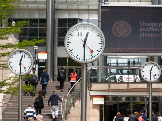 Swiss public clock