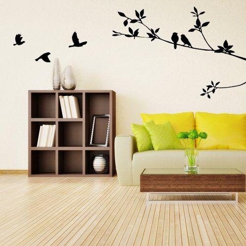 Murales adhesivos pared great el efecto espacio en for Murales adhesivos