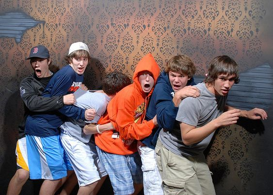 Haunted house with hidden camera. I seriously can't stop laughing at all of these!!!!