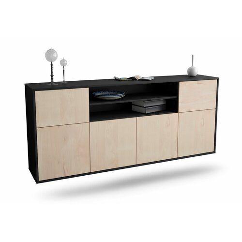 Sideboard Hutto Ebern Designs Farbe Korpus Front Anthrazit Z