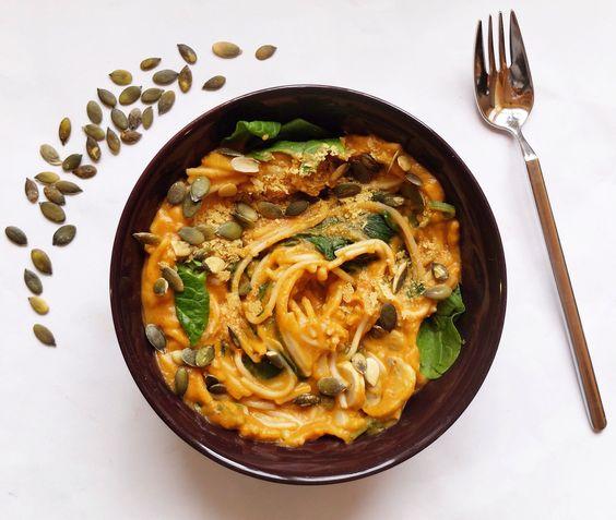 Pumpkin pasta sauce | Kitchen of Kirsten