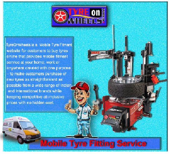 Mobile Tyre Fitting Service is currently available in Delhi/NCR, Bangalore and Mumbai offers tyres for almost all 4-wheeler and 2-wheeler vehicles from all the brands in India.