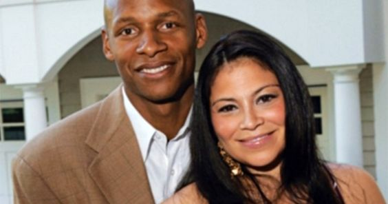 NBA Star Ray Allen and Wife Shannon