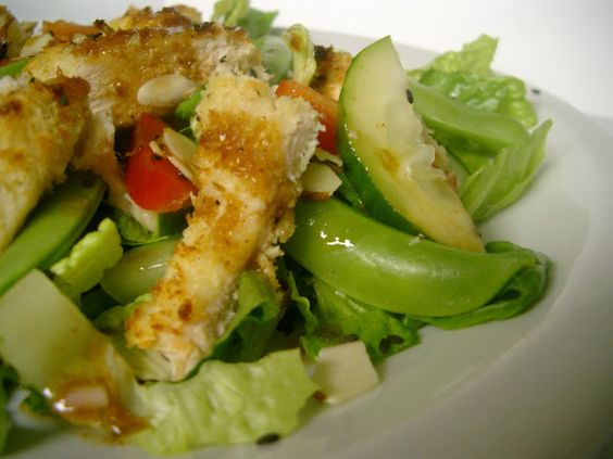 Chinese Chicken Salad with Sesame-Ginger Dressing | Soups and Salads ...