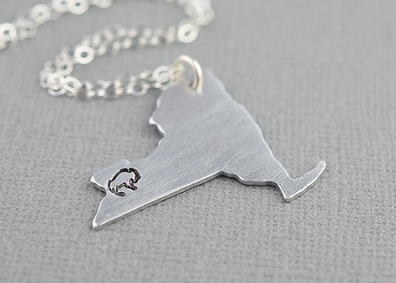 Personalized Buffalo New York State Hometown by ShopTheCopperFox