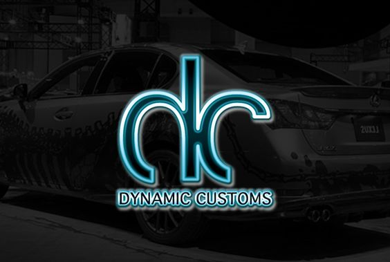 Logo Design | Dynamic Customs | Fort Collins, CO | Graphic Design by Flawless Media