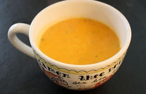 Culy homemade: romige wortelsoep