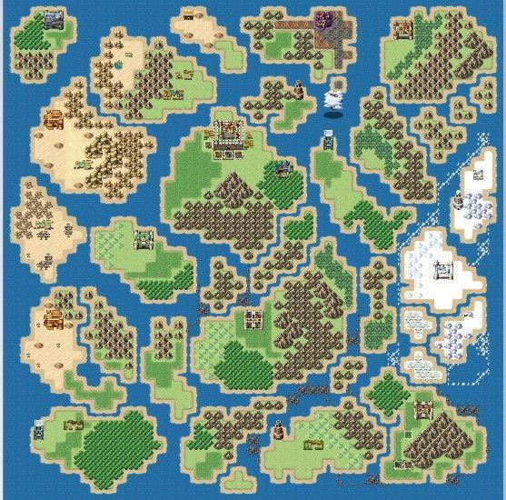 Paper Flowers World Map Made In Rpg Maker Mv Map Art Pixel Art