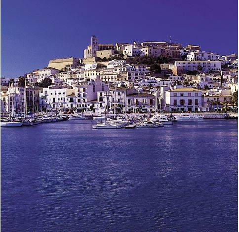 IBIZA TOWN, capital of #Ibiza, Spain. One of the most important cultural centres of ancient #Europe