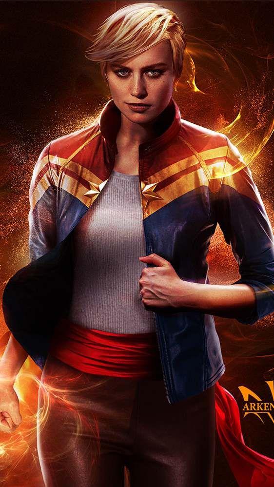 Brie Larson Captain Marvel Movie Iphone Wallpaper Captain Marvel Marvel Heroes Marvel Movies Captain marvel ultra hd wallpaper