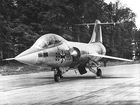 1962 June 19th. A formation of four F-104 Starfighters of the West German Luftwaffe crashes near Balkhausen, killing all four pilots. The first Starfighters had entered service with the Luftwaffe in July 1960.