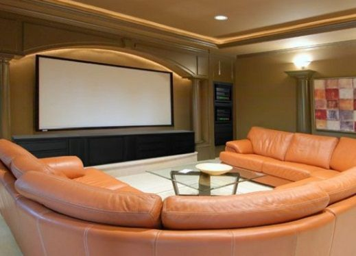 Beautiful Home Theater Furniture Ideas. Home Theater Furniture That Fits With Your  Lifestyle Will Make Your Time To Enjoy Watching Movie In Comfortable.