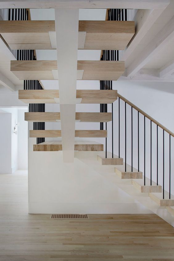 Outstanding Hamptons Stairs