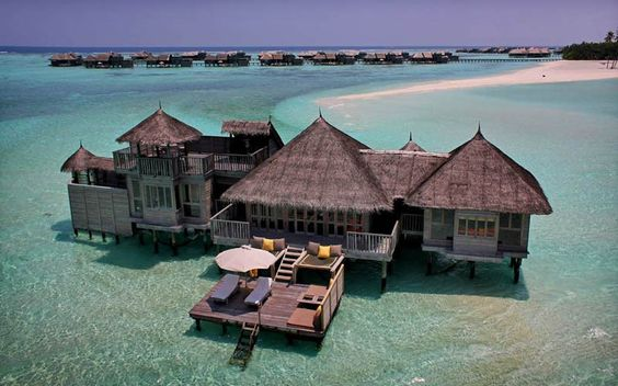 The Amazing Stilt Houses of Soneva Gili in the Maldives via Twisted Sift
