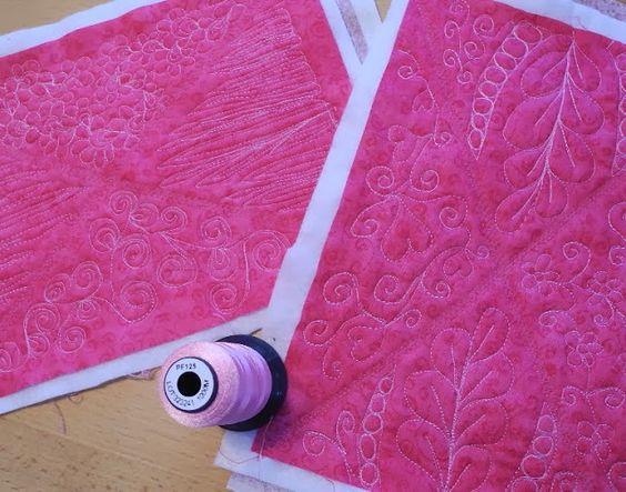 Grit's Life: Pink, Grün und Lila Täschchen