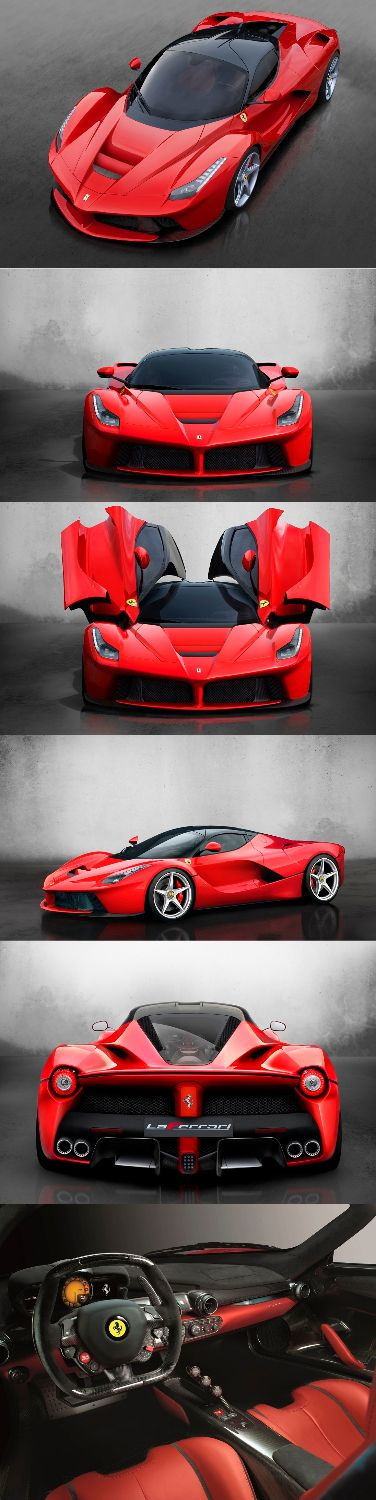 LaFerrari 2013- ~The Prancing Horse's eagerly-anticipated limited-series special, of which just 499 will be built, made its world debut 3/5/2013 at the Geneva International Motor Show.