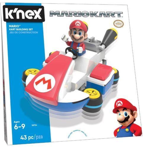 Knex Building Toys 21254 Mario Kart K Nex Knex Mario Kart Building Set 43pc Nintendo 38724 Brand New Buy It No Mario Kart Mario Educational Toys For Kids