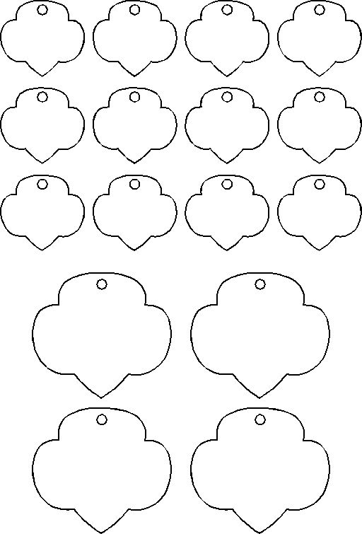 Template for shrinky dink trefoils girl scout craft or swap idea template for shrinky dink trefoils girl scout craft or swap idea cute stuff to make for girl scouts pinterest girl scout crafts template and pronofoot35fo Image collections