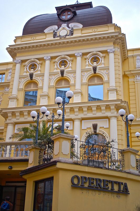 Operetta Croatia Rijeka Travel Spot