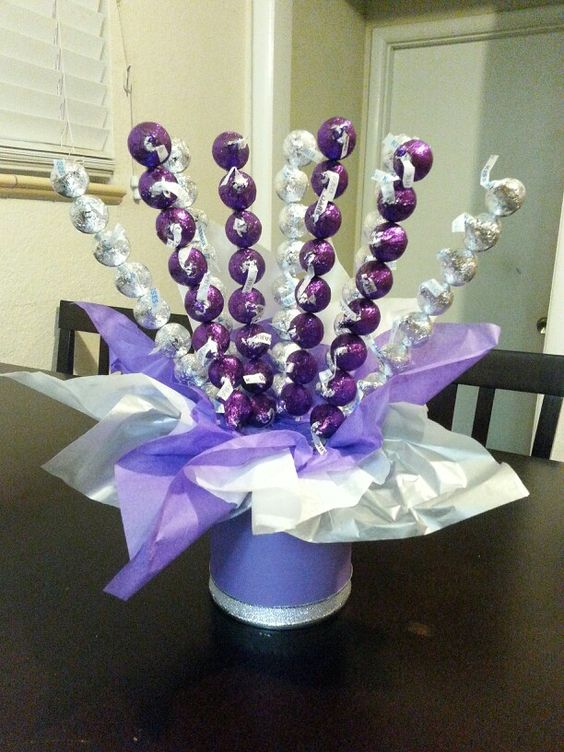 Purple Amp Silver All Kisses Candy Pinterest Kiss