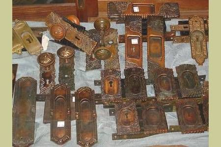 ANTIQUE & VINTAGE POCKET DOOR HARDWARE OPTIONS : Architectural Artifacts - Toledo, OH