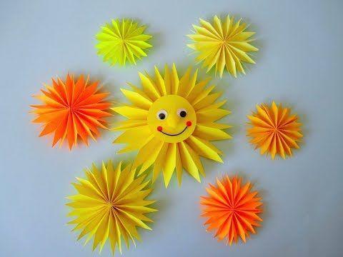 Origami Sonne
