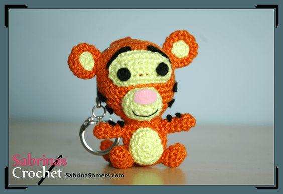 Amigurumi Winnie Pooh Patron Gratis : Tigger - Winnie the Pooh - Free Crochet Pattern ...