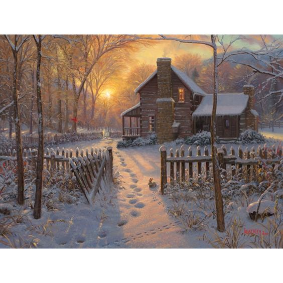Welcome Winter by Mark Keathley