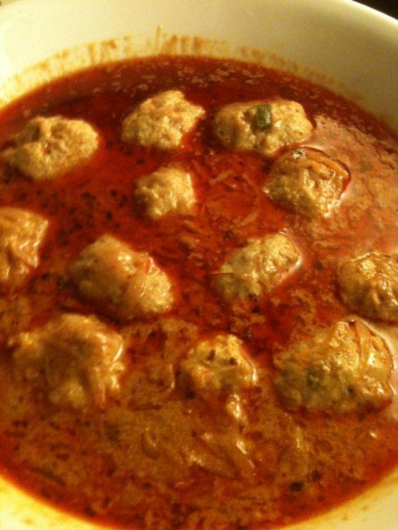 Kashmiri Kofta (Mince meat balls curry, recipe from Kashmir, India) For more…