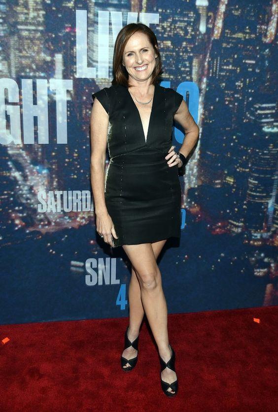 Pin for Later: Saturday Night Life rief und die Stars kamen in Scharen Molly Shannon