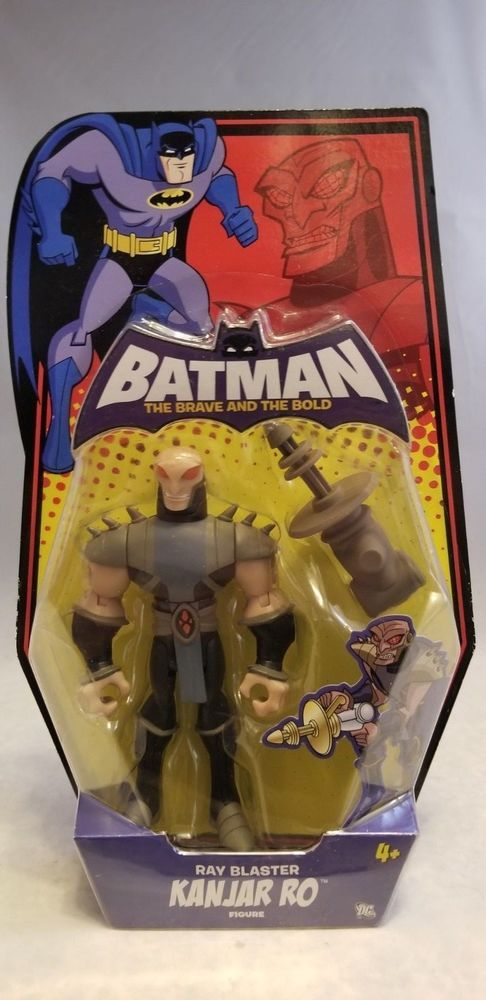 Batman The Brave And The Bold 5 Kanjar Ro Figure Brave The