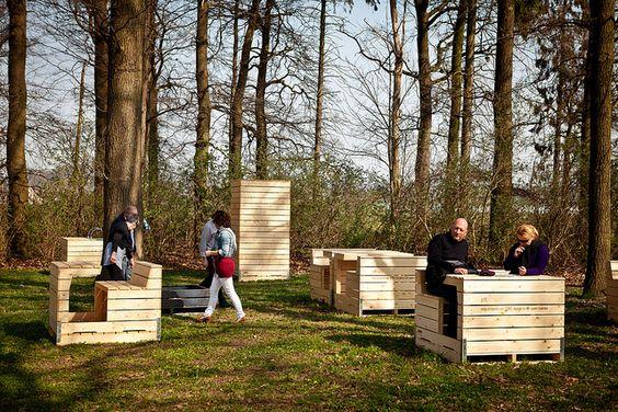 """Ardie Van Bommel - Field Furniture """"Pure Nature"""" #pallets"""