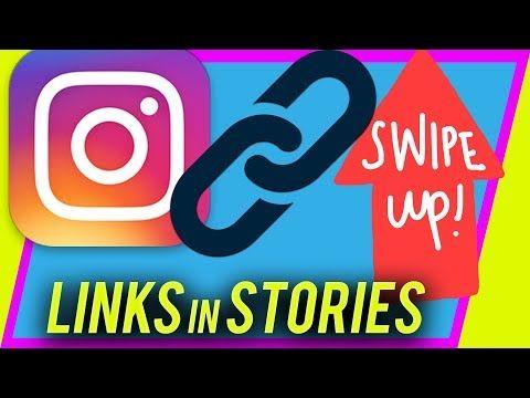How To Add Links To Instagram Story Swipe Up Url Link Youtube Instagram Story Instagram Pinterest Story
