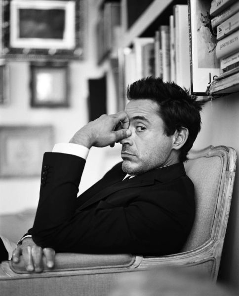 Robert Downey Jr. hands down one of the hottest men in the world.
