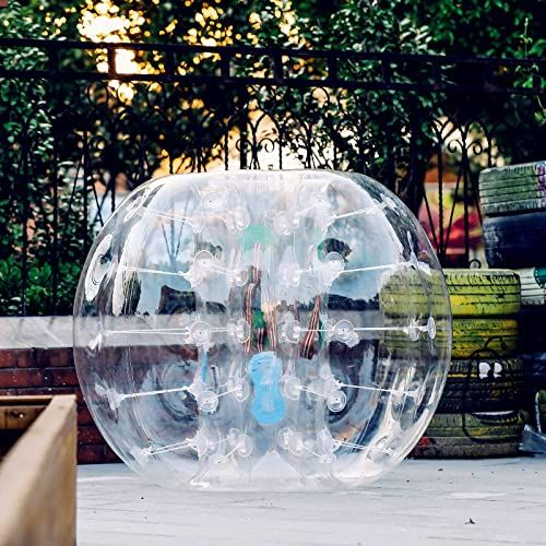 New Popsport Inflatable Bumper Ball 4ft Bubble Soccer Ball 0 8mm Eco Friendly Pvc Zorb Ball Human Hamster Ball Adults Kids 4ft Online Shopping Findtopbran In 2020 Bubble Soccer Soccer Balls Soccer Ball