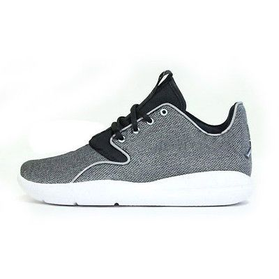 2ee910c07237 Nike Jordan Eclipse Premium Gs Big Kids 820239-010 Silver Shoes Youth Size  6