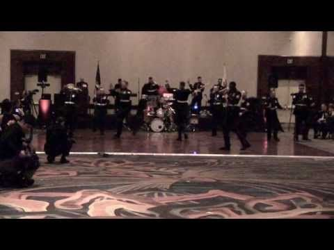 """▶ """"Thrift Shop / Can't Hold Us"""" Live by the Third Marine Aircraft Wing Band - YouTube"""