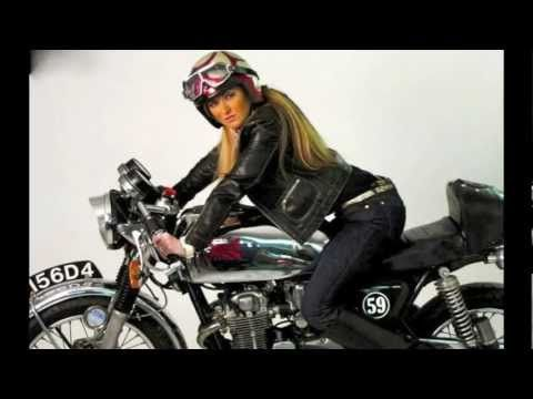 Moto Guzzi Chicas Cafe Racer y otras márcas.m4v