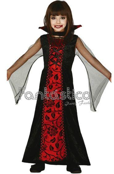 Disfraces Halloween Niña, Disfraces Niños, Disfraces Infantiles, Vampiresa Condesa, Disfraz Para Niña, Disfraz Vampiresa, Vestidos Niñas, De Halloween,