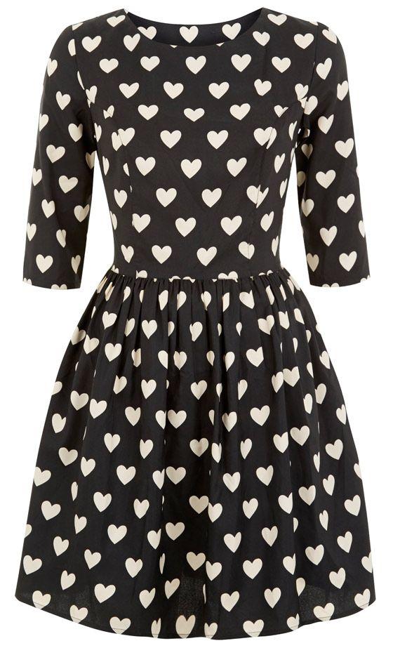 Primark Rose Print Dress, £8 | Mobile