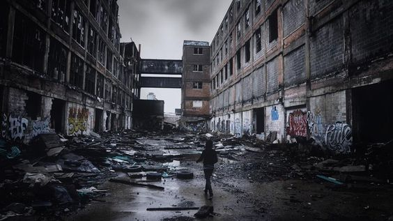 Abandoned buildings. Photographer Seph Lawless has documented the modern ruins and decaying buildings in Cleveland, East Cleveland and the northern Ohio area. (Seph Lawless)