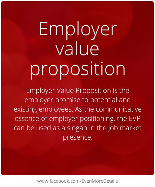 how to create an employee value proposition