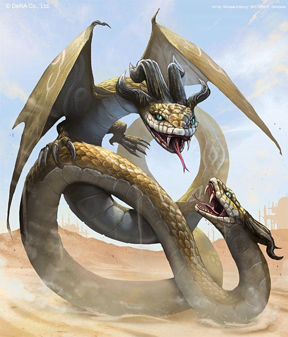 dragon Amphisbaena